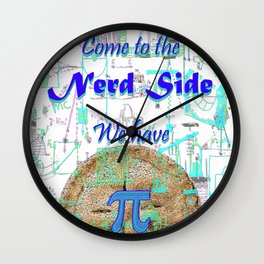 Come to the Nerd Side We have Pi Wall Clock