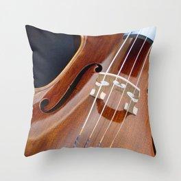 Cello Admiration Throw Pillow