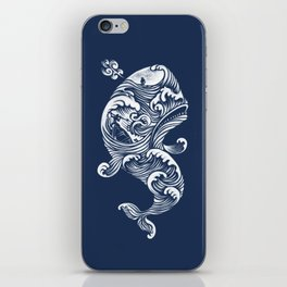 The White Whale  iPhone Skin