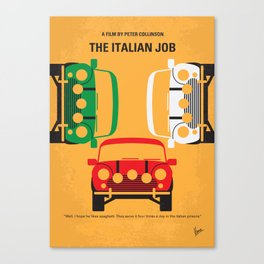 No279 My The Italian Job mmp Canvas Print