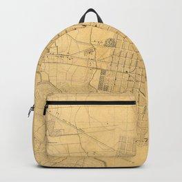 Vintage Map of Alexandria VA (1864) Backpack