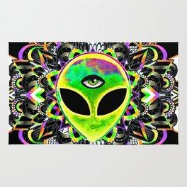 Alien Trance Rug