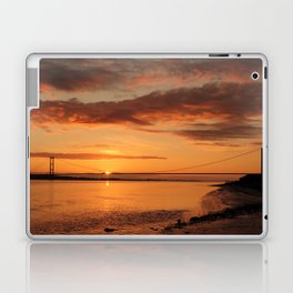 Humber Bridge Sunrise Laptop & iPad Skin