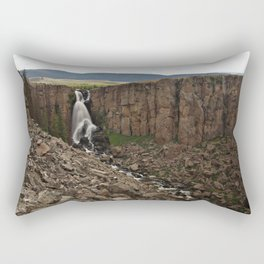 North Clear Creek Falls and Canyon Rectangular Pillow