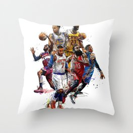 NBA 2k18 Throw Pillow