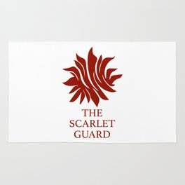 The Scarlet Guard Red Queen Rug