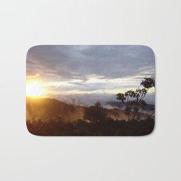 Sunset over the jungle in Costa RIca Bath Mat