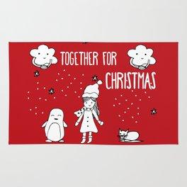 Together for Christmas Rug