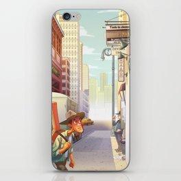 Bluesman iPhone Skin