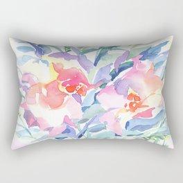 Floral watercolor Rectangular Pillow