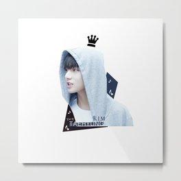 BTS - KIM TAEHYUNG Metal Print