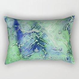 green ink 1 Rectangular Pillow