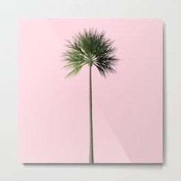Palm, Pink, Relax Metal Print