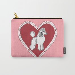 Poodle Love Carry-All Pouch