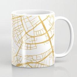 BASEL SWITZERLAND CITY STREET MAP ART Coffee Mug