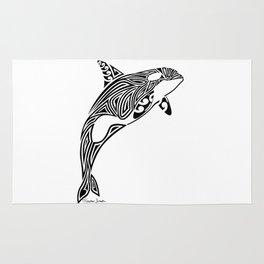 Tribal Orca Rug