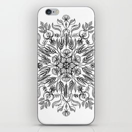 Thrive - Monochrome Mandala iPhone Skin