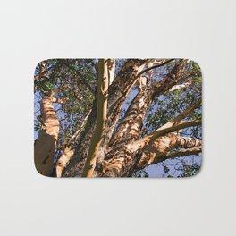 GREAT MADRONA TREE LOOKING SKYWARD Bath Mat