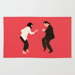 pulp fiction Rug