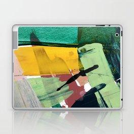 Hopeful[3] - a bright mixed media abstract piece Laptop & iPad Skin
