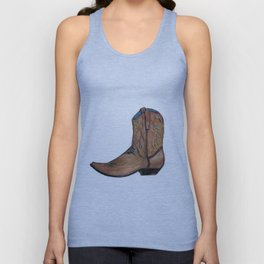 This Boot was Made for Walking Unisex Tank Top