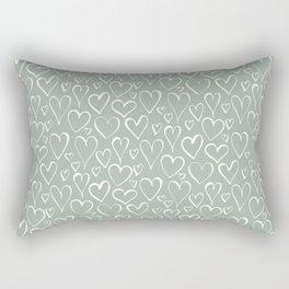 Winter Abstracts 2 Rectangular Pillow
