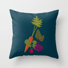 Vegetable Medley Throw Pillow