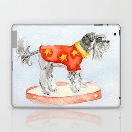 Starry Scruffy Schnauzer Laptop & iPad Skin