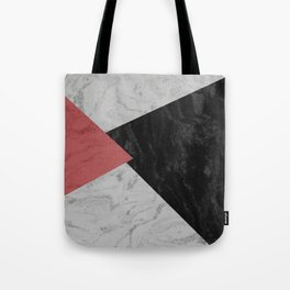 MARBLE TRIANGULES Tote Bag