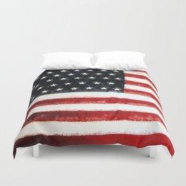 USA Flag ~ American Flag ~ Ginkelmier Inspired Duvet Cover