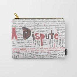 La Dispute Lyrics Carry-All Pouch
