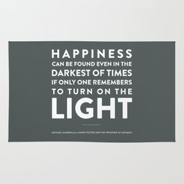 Light - Quotable Series Rug