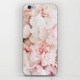 Peonies- Print IV iPhone Skin