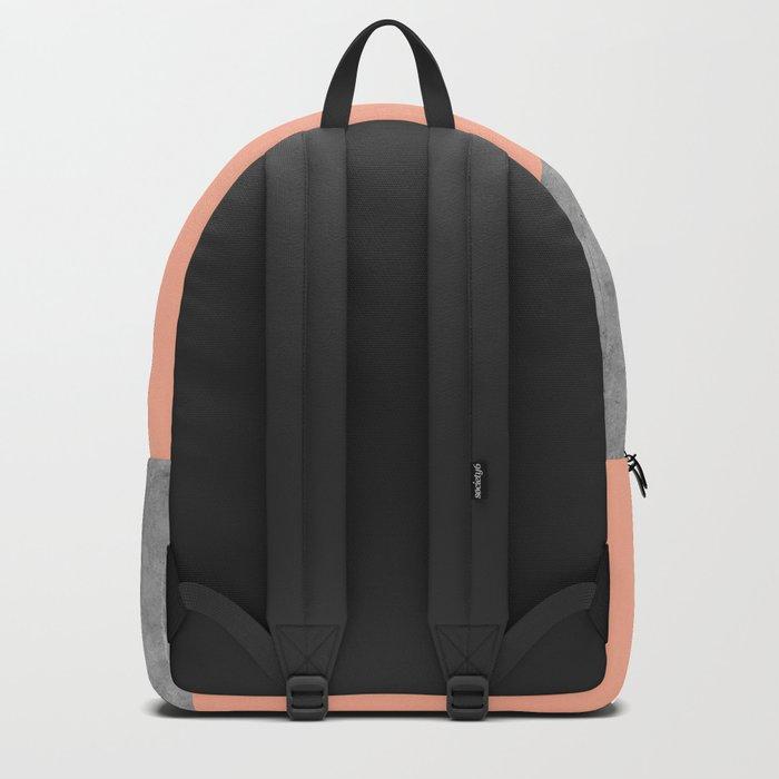Geometry 101 Sweet Peach Pink Backpack