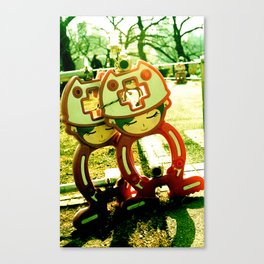 Roadworks Canvas Print
