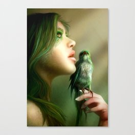 Green Whisper Canvas Print