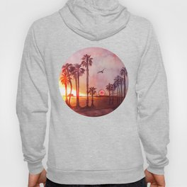 Sunset in Santa Monica Hoody