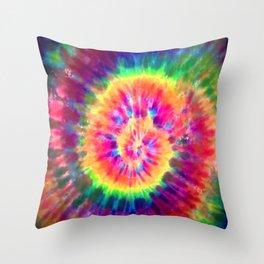 Tie-Dye Throw Pillow