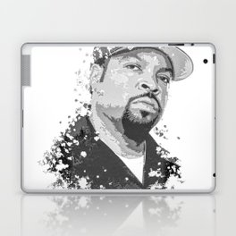 Ice Cube splatter painting Laptop & iPad Skin