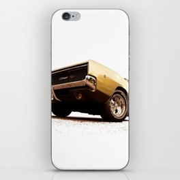 1968 Dodge Charger R/T - The Graphic Illustration iPhone Skin