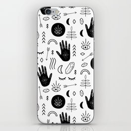Witchy Patterns iPhone Skin