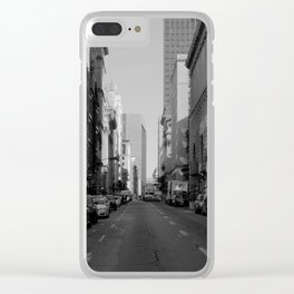 Mornings in Old Montreal Clear iPhone Case