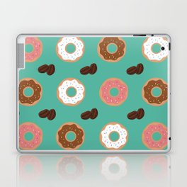 Coffee Beans and Donuts Laptop & iPad Skin