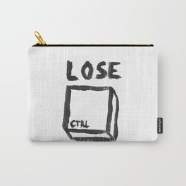 LOSE CTRL. Carry-All Pouch