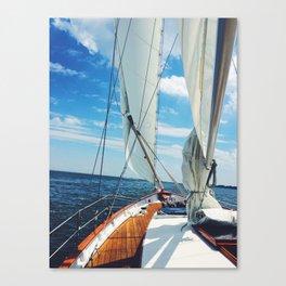 Sweet Sailing Canvas Print