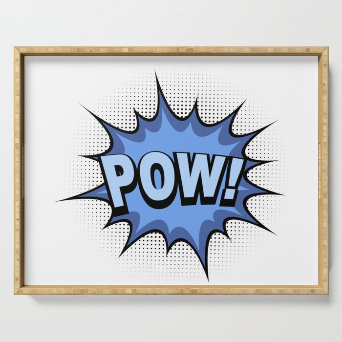 POW! Comic Book Serving Tray