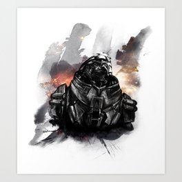 Forgive the insubordination - Galaxy Art Print