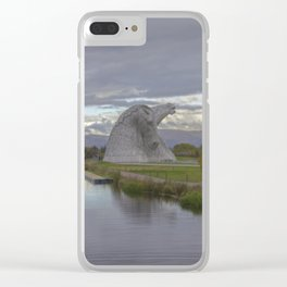 Iron Horses. Clear iPhone Case