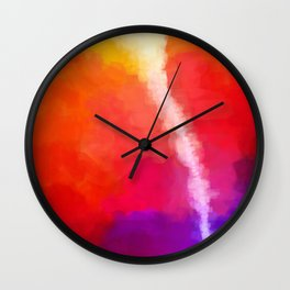 For the Love of Color Wall Clock