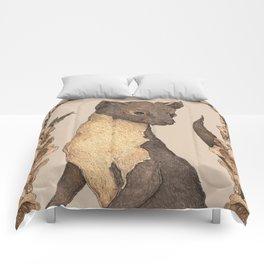 The Marten and Foxglove Comforters